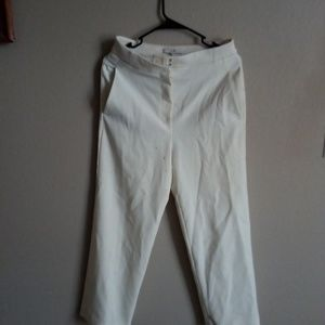 Tibi boot cut trousers